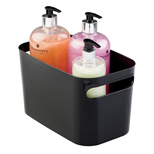 mDesign Cestello portaoggetti bagno- Contenitore bagno per cosmetici, prodotti e accessori - Pratico, efficace e universale - Organizer bagno multiuso