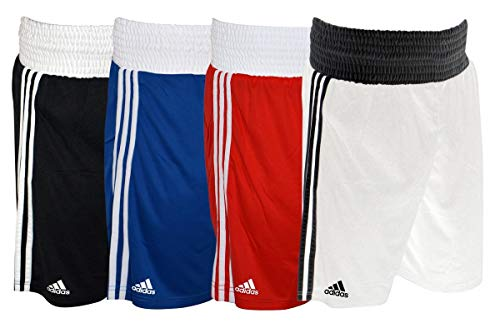adidas Herren Base Punch Box-Shorts, Schwarz, L