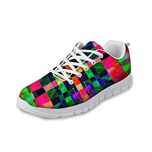 MODEGA Turnschuhe Kunst Badmintonschuhe Outdoor-Schuhe für Männer Racquetball Schuhe für Männer Schuhe für Männer Bowlingschuhe gehen Größe 41 EU |7 UK