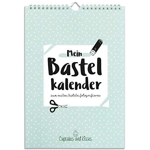 Cupcakes & Kisses Manualidades Calendario Para diseñar Incluso I A4creativo, foto Calendario, cumpleaños Calendario immerwährend I–Calendario de pared año 2018