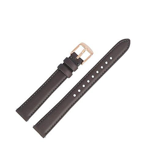 Fossil - Bracelet de montre en cuir marron de 14 mm, ES-3707 | LB-ES3707