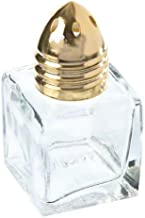 Update International (SK-CUG) 1/2 oz Square Shakers w/ Gold Top [Set of 12]