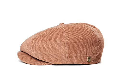 Brixton Brood Cord Snap Cap Headwear, BISON(Braun), S