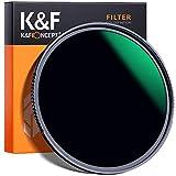 K&F Concept 82mm Filtro ND1000 10 Pasos, Filtro de Lente Densidad Neutra Gris ND de Vidrio Óptico HD con Multicapa Nano-Revestimiento para Cámara Lente