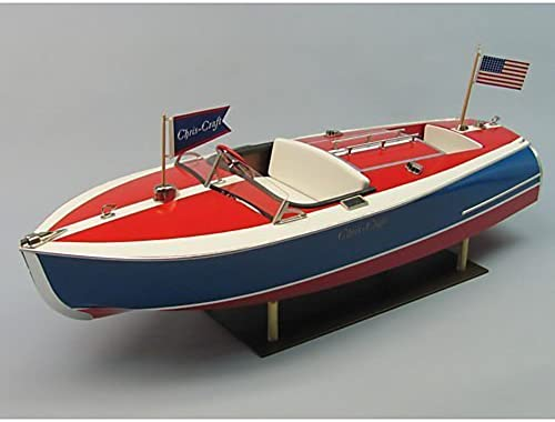 edición limitada 24  16' Chris-Craft Painted Racer Racer Racer Boat Kit by Dumas  respuestas rápidas
