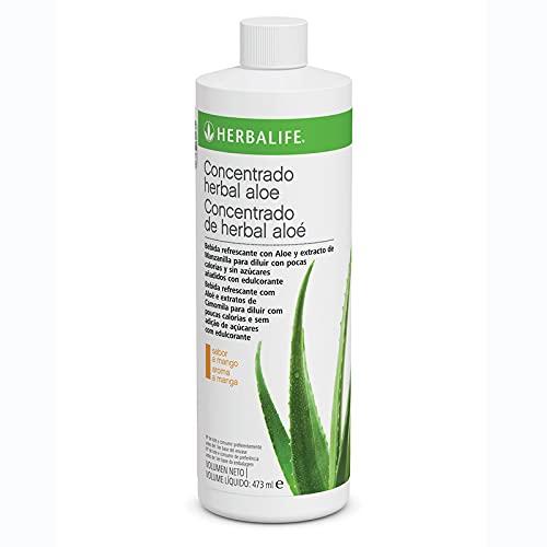 Aloe vera puro para beber herbalife - Herbalife pack chupapanzas - Aloe vera herbalife mango - chupapanzas herbalife - herbalife aloe vera - herbalife aloe vera mango - 473 ml. (Mango)
