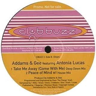 Addams & Gee Ft Antonia Lucas / Take Me Away