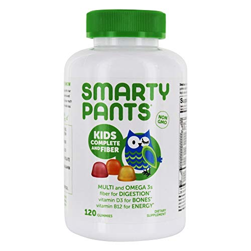 SmartyPants - Kids Complete Multivitamin and Fiber - 120 Gummies