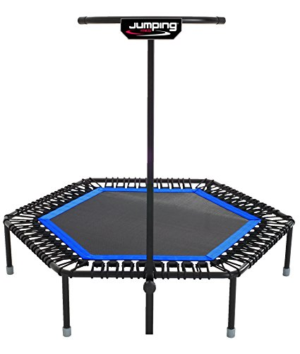 Jumping Home Fitness trampolino blu
