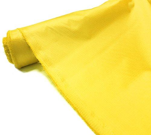 A-Express Ripstop Wasserdicht Stoff Material 3.8oz Draussen Abdeckung Zelt Kissen Gelb 1 Metre (100cm x 150cm)