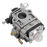 Carburador de bomba, construcción de metal sólido Carburador de cortacésped Carburador resistente al aceite para cortador de cepillo GX35 para piezas de cortacésped