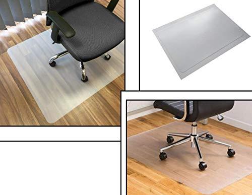 Bodenschutzmatte | 80 x 120 cm | Bürostuhl | transparent | Bürostuhlunterlage