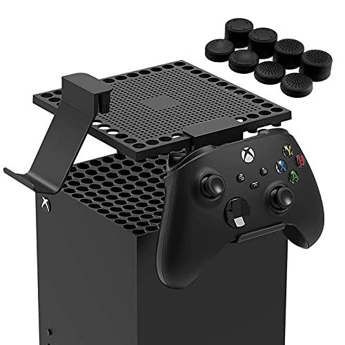 Cover Copertura Antipolvere per Xbox Series X Console, Protettivo per Xbox Series X Console Staffa per Controller Xbox Series X e Cuffie Xbox Series x Accessori