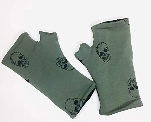 Handstulpen, Fingerlose Handschuhe, Stulpe Stulpen Leo Geschenk Weihnachten Handschuhe