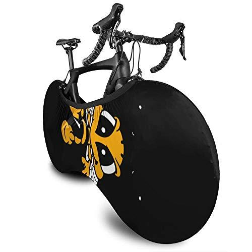 Cubierta para rueda de bicicleta de montaña ASADVE, cubierta de almacenamiento para bicicleta, elefante, con gafas y protector impermeable para bicicleta Mtb Bike Case cubierta de lluvia cubierta para bicicleta Mtb Biking