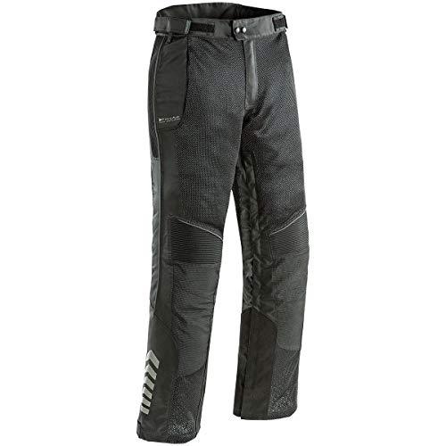 Joe Rocket 1518-3002 Phoenix Ion Motorradhose für Herren, Netzstoff, Schwarz, Größe S