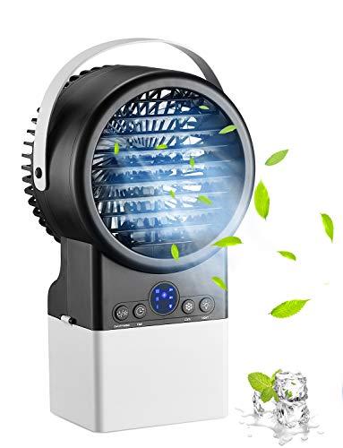 Homitt Mini Condizionatore Portatile, Raffreddatore D'aria silenzioso a 3 velocità, Mini Climatizzatore...