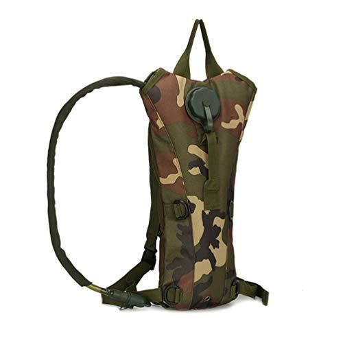 HaoYK - Zaino da 3 litri con serbatoio tattico per l'idratazione della vescica, per arrampicata, escursionismo, ciclismo, campeggio (WL)