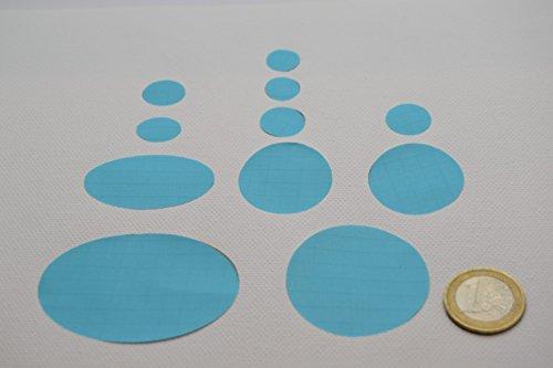 Daunenjacke First Aid Repair Patch Kit (hellblau Farbe)