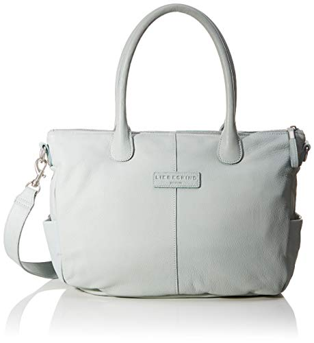 Liebeskind Berlin Damen GraceO8-vintag Henkeltasche, Light sea Blue, 14x25x31 cm