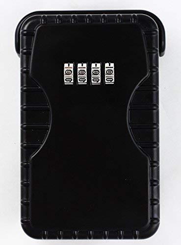 Arregui keeper - Guardallaves 80x125mm negro