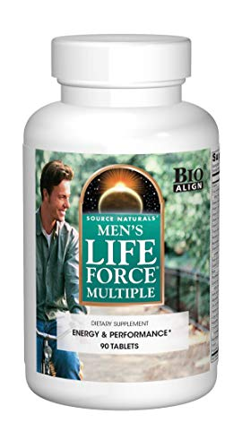 Source Naturals Men's Life Force Multiple Daily Multivitamin & Immune Health Supplement - 13 Essential Vitamins, Nutrients & Minerals - 90 Tablets