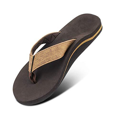 Men Sandals Flip Flop Orthotic...