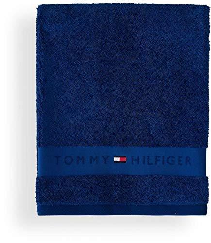 Tommy Hilfiger Handtuch Plain Farbe Regatta Größe 50x100cm