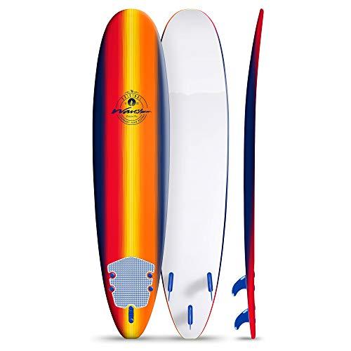 Wavestorm 8ft Classic Longboard Surfboard