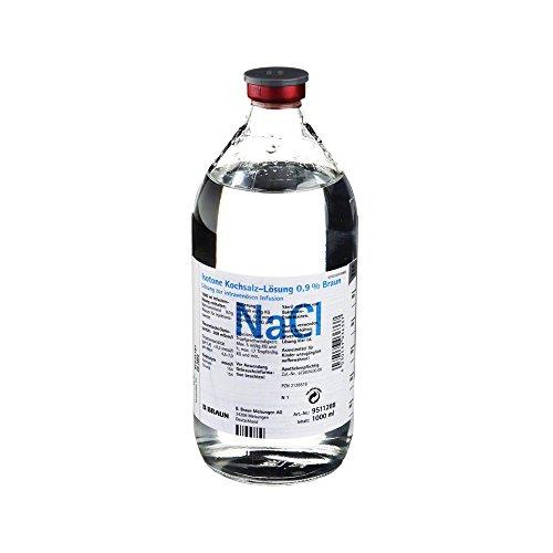 Kochsalzlösung 0,9% Glasfl, 1000 ml