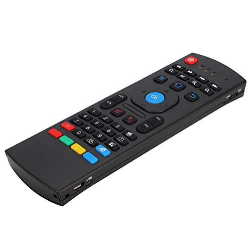 Mxzzand Air Fly Mouse Controller Teclado Control Remoto 2.4G Transmisión inalámbrica para computadora, Smart TV, Reproductor de Red para Tableta, Juegos somatosensoriales