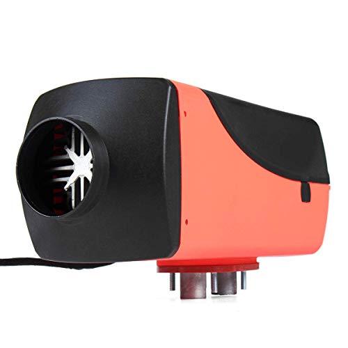 YAJIWU Descongelador de calentador de coche, 12 V 5000 W, calentador de aire diésel, calentador de estacionamiento, calefacción diésel, kit de calentador de aire portátil