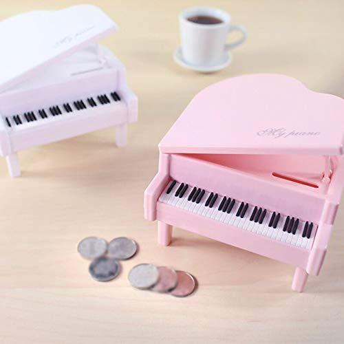 ukYukiko Kreatives Klavier-Design für Münzen, Spardose für Kinder
