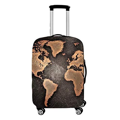Elastica Proteggi Valigia Suitcase Luggage Cover, DOTBUY 3D Lavabile Viaggio Proteggi Bagagli Coprire Coperchio di Protezione Antipolvere Copertura (la zona,S (18-20 pollici))