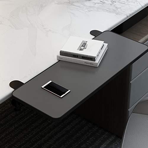 ACXZ Cajón de Teclado Plegable Negro, Bandeja ergonómica para Teclado de computadora, Soporte reposamuñecas para Teclado (52 × 25 cm, 65 × 25 cm, 75 × 25 cm)