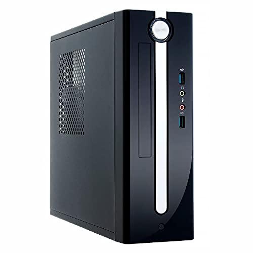 Sedatech Mini PC Evolution Intel i7-9700 8X 3.0 Ghz, 16 GB RAM DDR4, 500 GB SSD NVMe M.2 PCIe, 2 TB HDD, DVD-RW, WiFi, Bluetooth, Unidad Central, Win 10