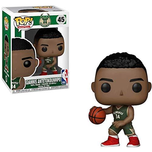 Lotoy Funko Pop Basketball : Milwaukee Bucks - Giannis Antetokounmpo Vinyl 3.75inch for NBA Fans Model
