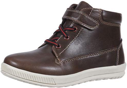 Deer Stags boys Niles Memory Foam Dress Casual Comfort High Top Sneaker boots Dark Brown 3 5 product image