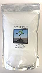 Image of a bag of MSM powder for hair