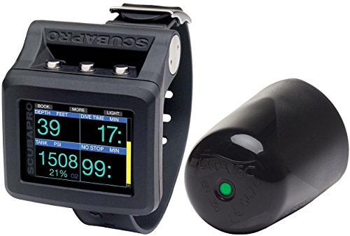 Scubapro G2 Wrist dive computer W/ transmitter (HRM not included)