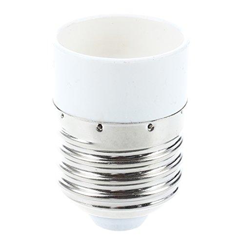 SNOWINSPRING Adaptador E27 Base de enchufe de bombilla luz de punto a E14