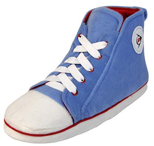 Dunlop Chaussons montants pour femme - Bleu - Bottes bleues, 36/37 EU