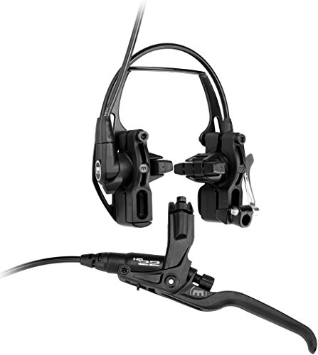 Magura HS22 Felgenbremse 3-Finger-Hebel VR/HR Easy Mount Anbau Fahrradbremse, schwarz, One Size