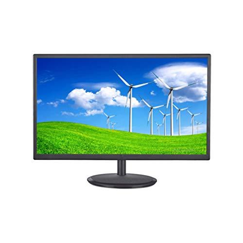 Pantalla de TV/TV Full HD 2 en 1 de 19 Pulgadas, Pantallas de Monitor de computadora 1366 768P Marco de hasta 60 Hz IPS ultradelgado Pantalla panorámica para Juegos de 3 Ms (HDMI + VGA + USB + DP +