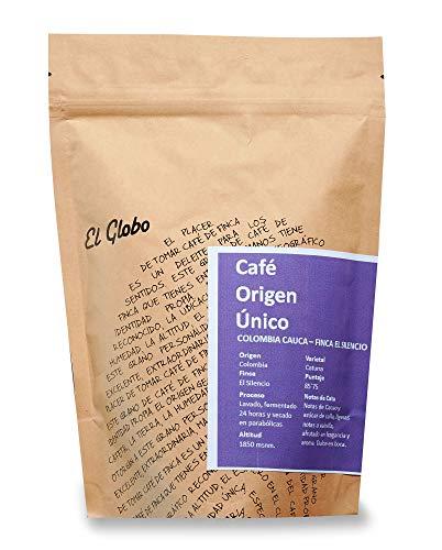 Cafe Origen Único El Globo Coffee Beans Gourmet Colombia Cauca Olga Bermeo 300 Gramos
