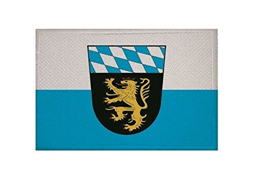 U24 Aufnäher Oberbayern Fahne Flagge Aufbügler Patch 9 x 6 cm