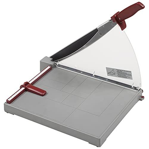 YDHNB Cortador de Papel A4, con Base de Plástico, para Fotos, Guillotina de 335 mm de Longitud de Corte, 10 Hojas de Papel para el hogar o la Oficina