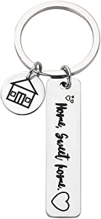 Sponsored Ad - New Home Keychain Our First Home Keychain New Home Housewarming Gift Keyring For Women Men