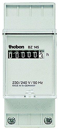 Theben 1450000 BZ145 BZ 145 230V Reiheneinbau-Betriebsstundenzähler, 2 TLE