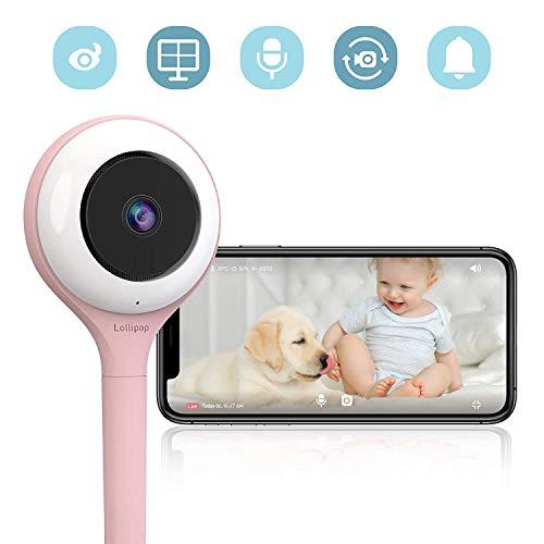 Lollipop Smart Baby Monitor HD WiFi & Wall Mount